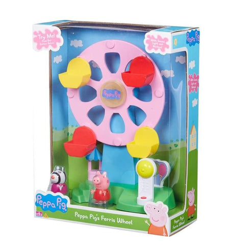 Peppa Pig Ferris Wheel With Light & Sound Includes Peppa & Zoe Figures