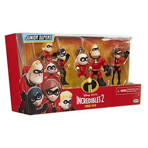 Incredibles 2 Precool Family Figure 3'' 5 Pack