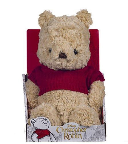 Official Disney Christopher Robin Collection Winnie the Pooh Soft Toy - 25cm
