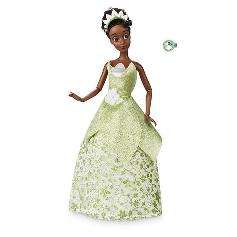 Official Disney Princess and the Frog 30cm Tiana Classic Doll with Ring