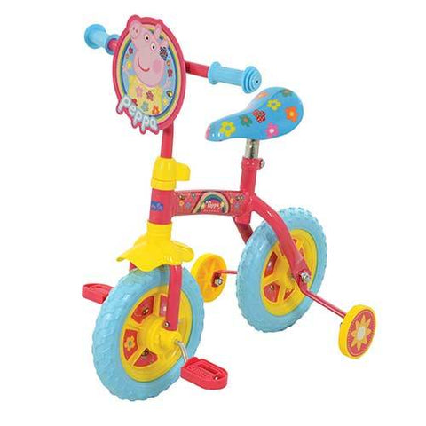 Peppa Pig 2 in 1 - 10? Training Bike  M14705