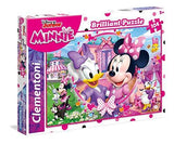 Clementoni Brilliant Puzzle Disney Minnie Happy Helpers 104 Pieces Jigsaw Puzzle