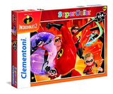 Clementoni Supercolor Disney The Incredibles 2 104 Pieces Jigsaw Puzzle