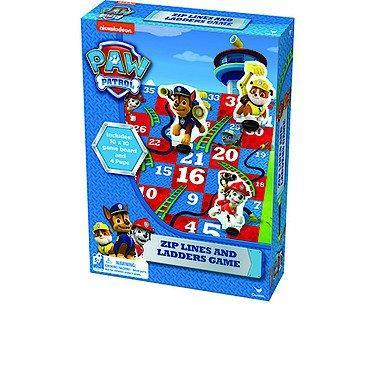 Paw Patrol Sea Zip Lines & Ladders Board Game