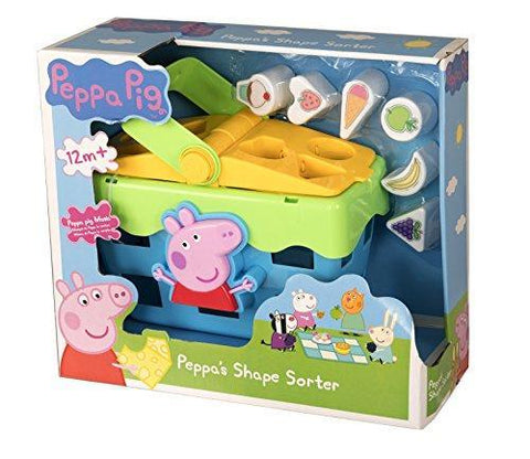 Peppa Pig Shape Sorter Picnic Set Which Peppa Theme Tune & Sound