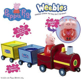 Peppa Pig Weebles Peppa's Wobbly Train