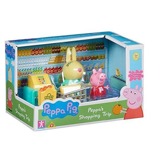Peppa Pig Peppa's Shopping Trip Playset With 2 Figures