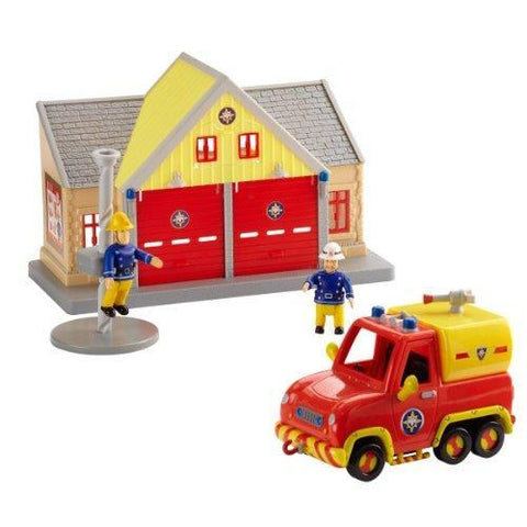 Fireman Sam Fire Station and Venus Vehicle