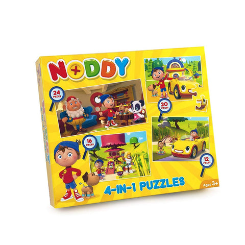 Paul Lamond Noddy 4 In 1 Puzzles