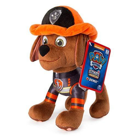 Spiinmaster Paw Patrol Ultimate Rescue 8'' Pup Pal Zuma Soft Plush Toy