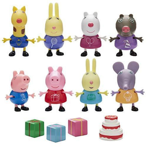 Peppa Pig & Friends 8 Figure Party Pack