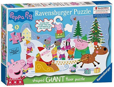 Ravensburger 5534 Peppa Pig Christmas Jigsaw Puzzle with Door Hanger