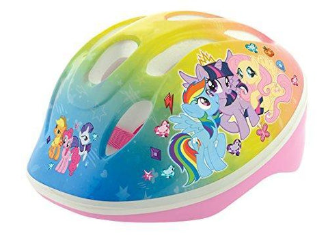 My Little Pony Girl Safety Helmet, Pale Blue, 48-52 cm