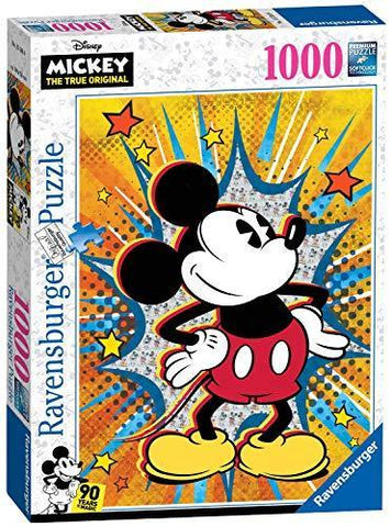 Ravensburger Retro Mickey Mouse 90th anniversary 1000pc Jigsaw Puzzle