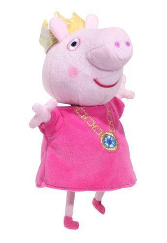 Peppa Pig 7'' Talking Princess Peppa Soft Plush Toy