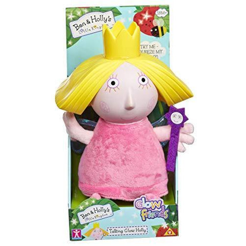 Ben & Holly's Little Kingdom Talking Holly Glow Friend Plush Toy