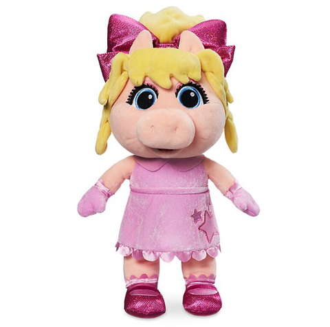 Official Disney Miss Piggy Small Soft Plush, Muppet Babies