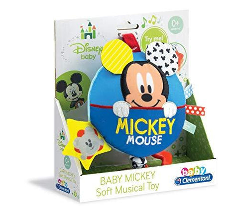 Clementoni Disney Baby Mickey Mouse Soft Carillon Musical Toy