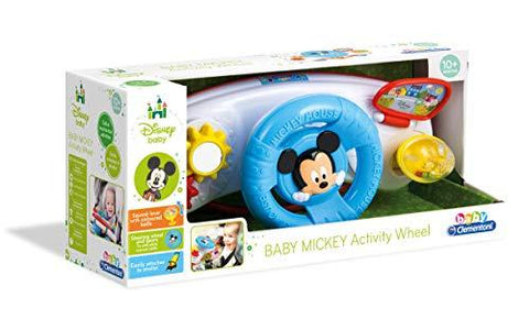 Clementoni Disney Baby Mickey Mouse Activity Stroller Steering Wheel
