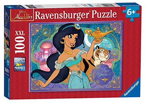 Ravensburger Disney Princess - Jasmine, XXL 100pc Jigsaw Puzzle 10409