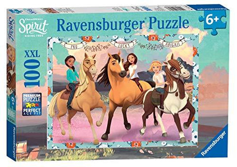 Ravensburger Dreamworks Spirit, XXL 100pc Jigsaw Puzzle 10748