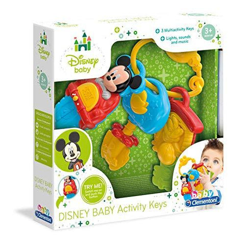 Clementoni Disney Baby Mickey Mouse Activity Keys 14832