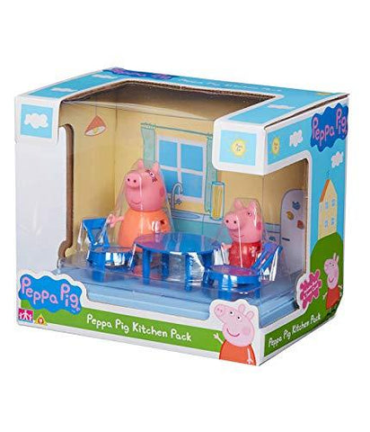 Peppa Pig Kitchen Pack Scene Playset