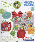 Clementoni Disney Baby Mickey Mouse Shape Sorter House Puzzle