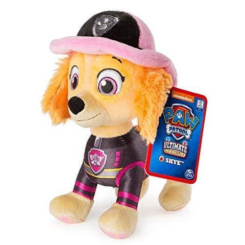 Ultimate Rescue 8'' Pup Pal Skye Soft Plush Toy