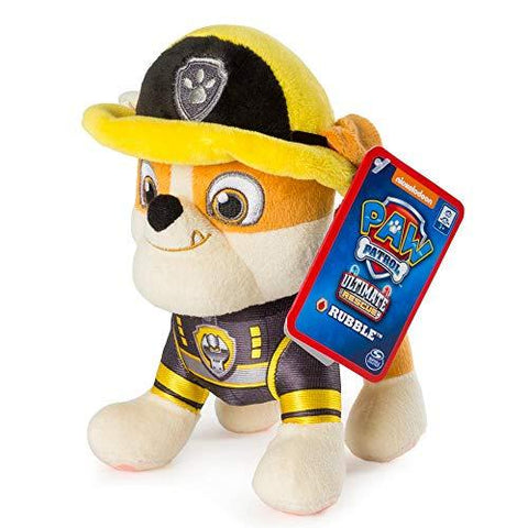 Ultimate Rescue 8'' Pup Pal Rubble Soft Plush Toy