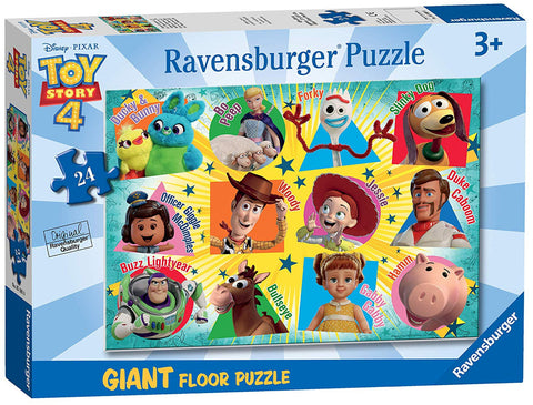 Ravensburger 5562 Disney Toy Story 4, 24pc Giant Floor Jigsaw Puzzle