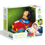Clementoni Baby Mickey Pull Along Car