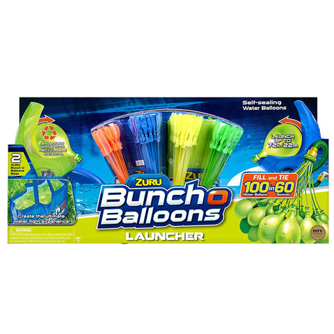 Zuru Bunch O Balloons Water Balloons Dual Launchers