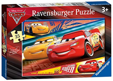 Ravensburger Disney Pixar Cars 3, 35pc Jigsaw Puzzle