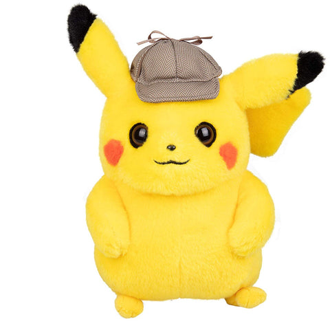 Pokemon Detective Pikachu with cap 8 inch Soft Plush Toy