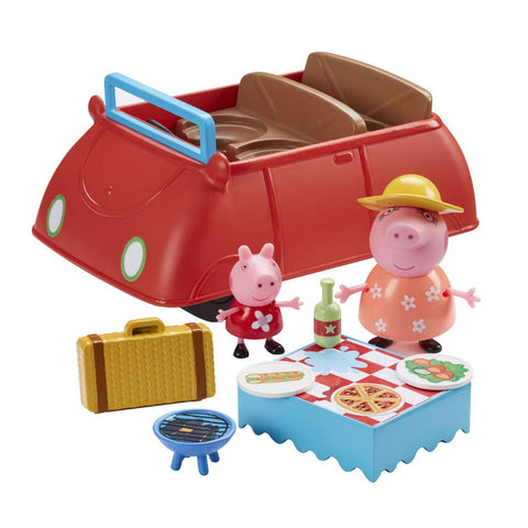 Peppa Pig Peppa's Big Red Car With Sound & Accessories