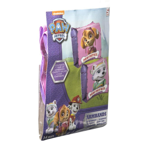 Paw Patrol Inflatable Swim Armbands (Pink)