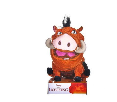 Posh Paws Disney's The Lion King Farting Pumba In Gift Box 25cm