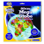 Brainstorm 50cm Mega Inflatable Globe