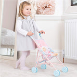 Babyboo Stroller Buggy Pushchair For Dolls