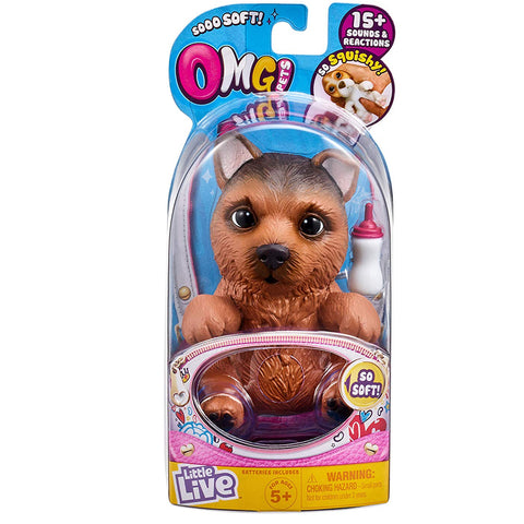 Little Live So Soft OMG Pets Series 1 Figure - Shep