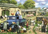 Falcon Seasons on The Farm Jigsaw Puzzles 4 in 1 Box