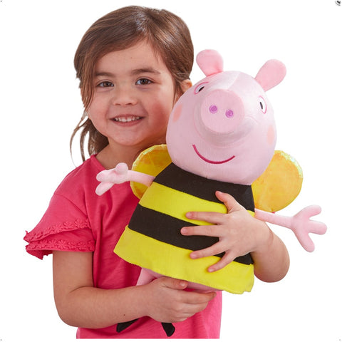 Peppa Pig 29cm Large Busy Bee Peppa Soft Plush Toy