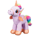 Pony Wonderland 45cm Lilac Pony Soft Plush Toy