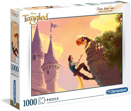 Clementoni 39490 The Art Of Collection Disney Tangled 1000 Piece Puzzle