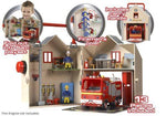 Fireman Sam Deluxe Fire Station Playset With Figures