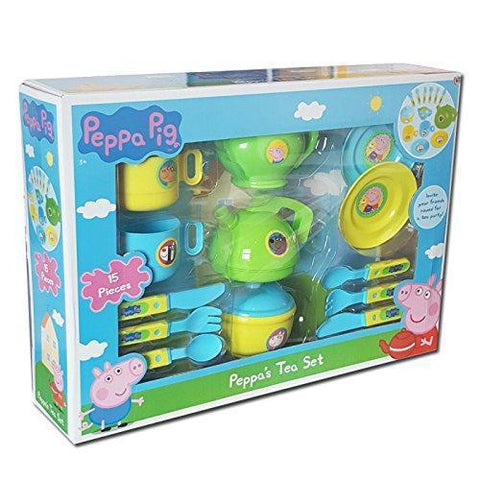 Peppa Pig 15 Piece Tea Set