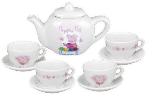 Peppa Pig 10 Piece Porcelain Tea Set