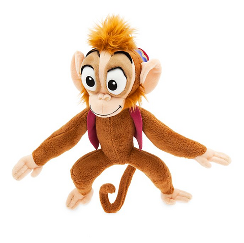 Official Disney Aladdin 27cm Abu The Monkey Soft Plush Toy