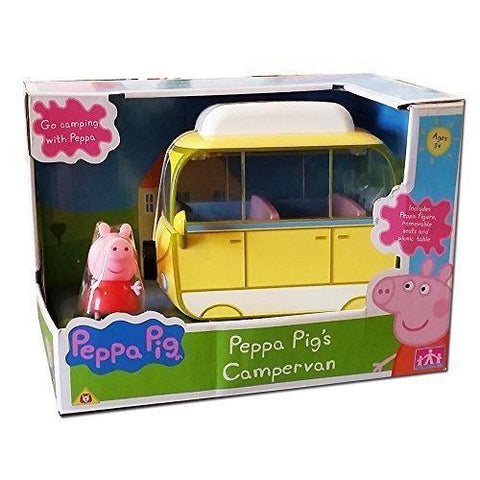 Peppa Pig Peppa's Campervan With Peppa Figure & Accessories